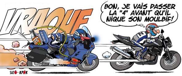 Dessin ou bd humour moto au bar chez nico licence iv - Dessin motard humoristique ...